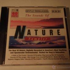 CDs de Música: THE SOUNDS OF NATURE SAMPLER. Lote 53258728