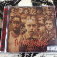 CDs de Música: KORN - UNTOUCHABLES - CD ALBUM - SONY - 2002. Lote 53267723