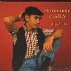 CDs de Música: CD HOMENAJE A GILA - LO MEJOR DE GILA --- (REF-SAMIIZES2). Lote 53270740