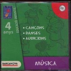 CDs de Música: CD INFANTIL - EL PETIT UNIVERS - CANÇONS DANSES I AUDICIONS - 4 ANYS. Lote 53270782