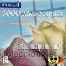 CDs de Música: MUSICAL 2000 AÑOS DESPUES - ¿ NO VALES MAS QUE UNA ROSA ? - CD SINGLE - AÑO . Lote 53271720