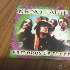 CDs de Música: KE NO FALTE. VAMONOS AL MAMBO. CD PROMOCIONAL EN CARTÓN. EDIT. RADIO. Lote 53277560