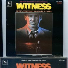 CDs de Música: WITNESS (MADE IN GERMANY 1985). Lote 53278562