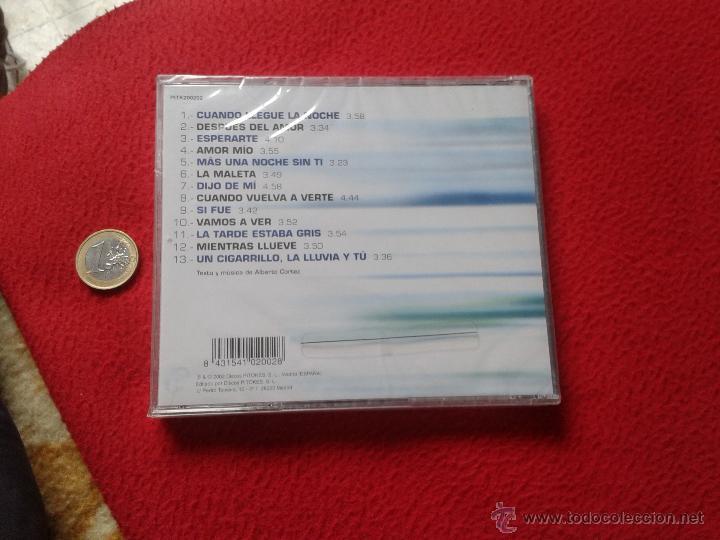 CDs de Música: CD MUSICA MUSICAL ALBERTO CORTEZ DESPUES DEL AMOR CON 13 TEMAS CANCIONES 2002 PRECINTADO VER FOTO/S - Foto 2 - 53284703