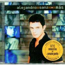 CDs de Música: ALEJANDRO SANZ - MÁS - DOBLE CD SPAIN 1998 - WEA MUSIC 3984 23770-2. Lote 53286351