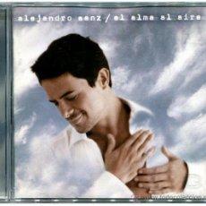 CDs de Música: ALEJANDRO SANZ - EL ALMA AL AIRE - CD SPAIN 2000 - WEA 8573 84774 2. Lote 53286437
