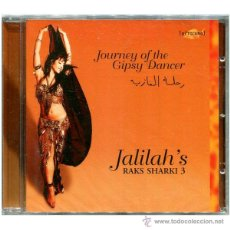 CDs de Música: JALILAH – JALILAH'S RAKS SHARKI 3 - JOURNEY OF THE GIPSY DANCER - CD GERMANY 1997 - MINT. Lote 53286925