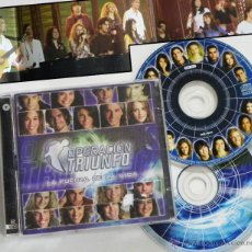 CDs de Música: DOBLE CD FUERZA DE LA VIDA OPERACIÓN TRIUNFO OT MÚSICA MANUEL CARRASCO VEGA NIKA CHENOA BETH TORRES. Lote 53300306