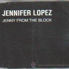 CDs de Música: JENNIFER LOPEZ JLO CD SINGLE PROMO JENNY FROM THE BLOCK. Lote 53311443