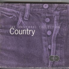 CDs de Música: THE UNIVERSAL COLLECTION COUNTRY. DOBLE CD . 2.. Lote 53329168