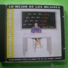 CDs de Música: JOAQUIN SABINA LO MEJOR DE LOS MEJORES / YO ,MI,ME , CONTIGO + 4 SUPER EXITOS CD ALBUM +BONUS PEPETO. Lote 69641150
