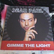 CDs de Música: SEAN PAUL - GIMME THE LIGHT - CD SINGLE - PROMO - 2 TRACKS - ATLANTIC - 2003. Lote 53344059