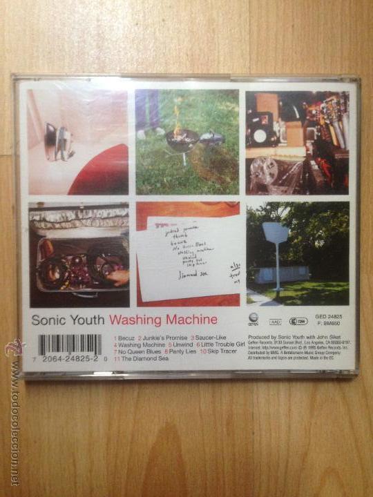 CDs de Música: SONIC YOUTH (WASHING MACHINE) CD - Foto 2 - 53360267