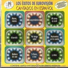 CDs de Música: CD LOS EXITOS DE EUROVISION CANTADOS EN ESPAÑOL( GELU, KARINA, PARCHIS, BAMBINO, LOS MISMOS, ROSALIA. Lote 53370387