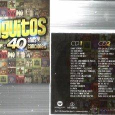 CDs de Música: DOBLE CD LOS CHUNGUITOS ; 40 AÑOS DE CANCIONES . Lote 53370552