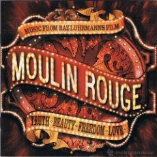 CDs de Música: CD BANDA SONORA DE MOULIN ROUGE DE BAZ LUHRMANN - 16 TEMAS - COMO NUEVO. Lote 53399546
