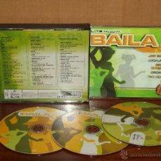 CDs de Música: BAILA O4 - VARIOS ARTISTAS - TRIPLE CD. Lote 53451378