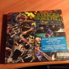 CDs de Música: AVENGED SEVENFOLD ( LIVE IN THE LBC & DIAMONDS IN THE ROUGH) CD + DVD (CD24). Lote 54733898