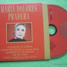 CDs de Música: MARIA DOLORES PRADERA LA FLOR DE LA CANELA + 4 CD SINGLE CARTON SPAIN 2000 PDELUXE. Lote 53456303