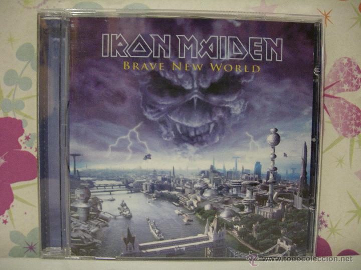 IRON MAIDEN *** BRAVE NEW WORLD *** CD MUSICA HEAVY ** EMI (Música - CD's Heavy Metal)