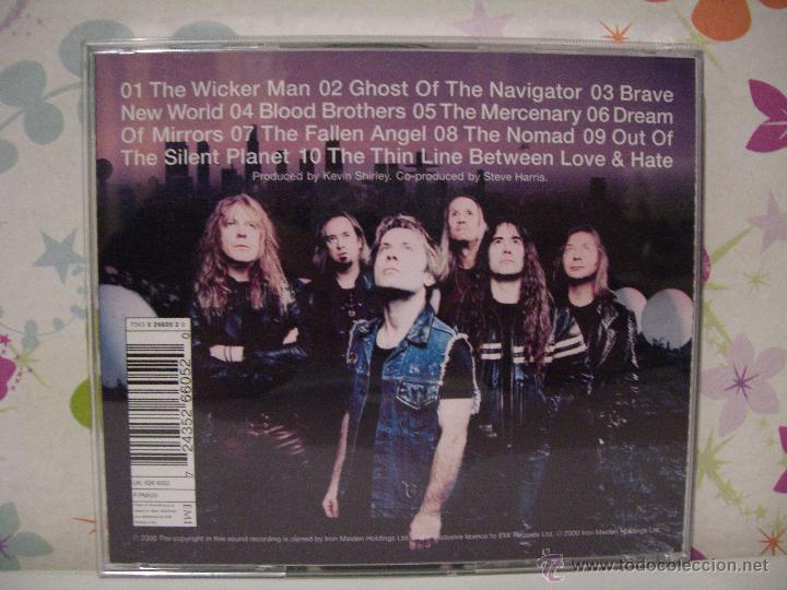 CDs de Música: IRON MAIDEN *** BRAVE NEW WORLD *** CD MUSICA HEAVY ** EMI - Foto 2 - 53465618