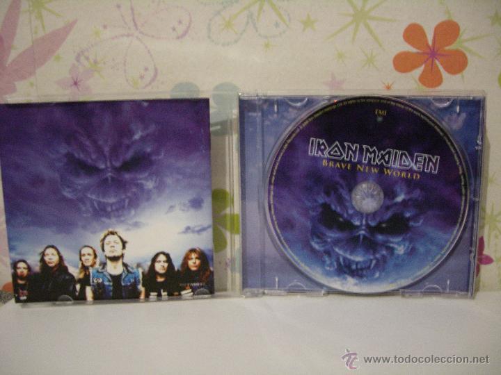 CDs de Música: IRON MAIDEN *** BRAVE NEW WORLD *** CD MUSICA HEAVY ** EMI - Foto 3 - 53465618