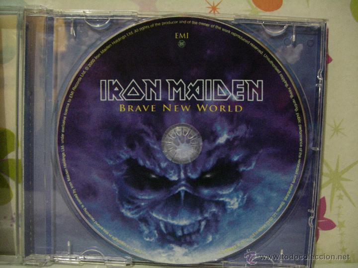 CDs de Música: IRON MAIDEN *** BRAVE NEW WORLD *** CD MUSICA HEAVY ** EMI - Foto 4 - 53465618