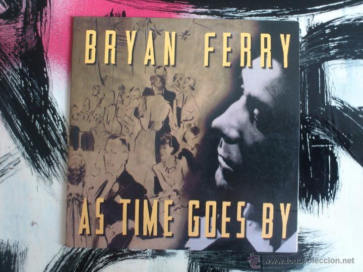 BRYAN FERRY - AS TIME GOES BY - CD SINGLE - PROMO - VIRGIN - 1999 (Música - CD's Rock)