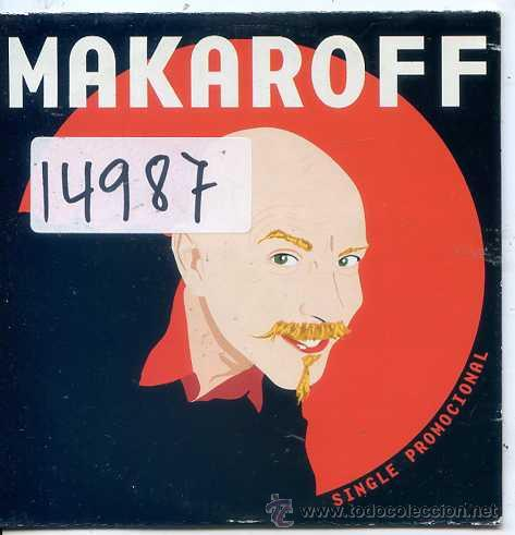 SERGIO MAKAROFF / MI MURCIANA FAVORITA + 2 (CD SINGLE CARTON PROMO) (Música - CD's Pop)