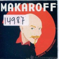CDs de Música: SERGIO MAKAROFF / MI MURCIANA FAVORITA + 2 (CD SINGLE CARTON PROMO). Lote 53470479