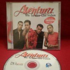 CD de Música: AVENTURA - WE BROKE THE RULES -CD #0992. Lote 53496530