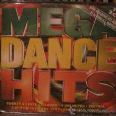 CDs de Música: MEGA DANCE HITS - DOBLE CD. Lote 53504327
