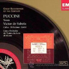 CDs de Música: PUCCINI- TOSCA - VICTOR DE SABATA - EMI. Lote 53528854