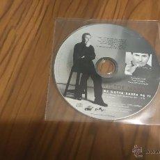 CDs de Música: VICTOR MANUEL. ME GUSTA SABER DE TI. CD SINGLE PROMOCIONAL EN FUNDA DE PLÁSTICO. Lote 53557307