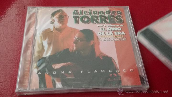 CD NUEVO PRECINTADO ALEJANDRO TORRES AROMA FLAMENCO CON LA GUITARRA DE EL NIÑO DE LA ERA (Música - CD's Flamenco, Canción española y Cuplé)