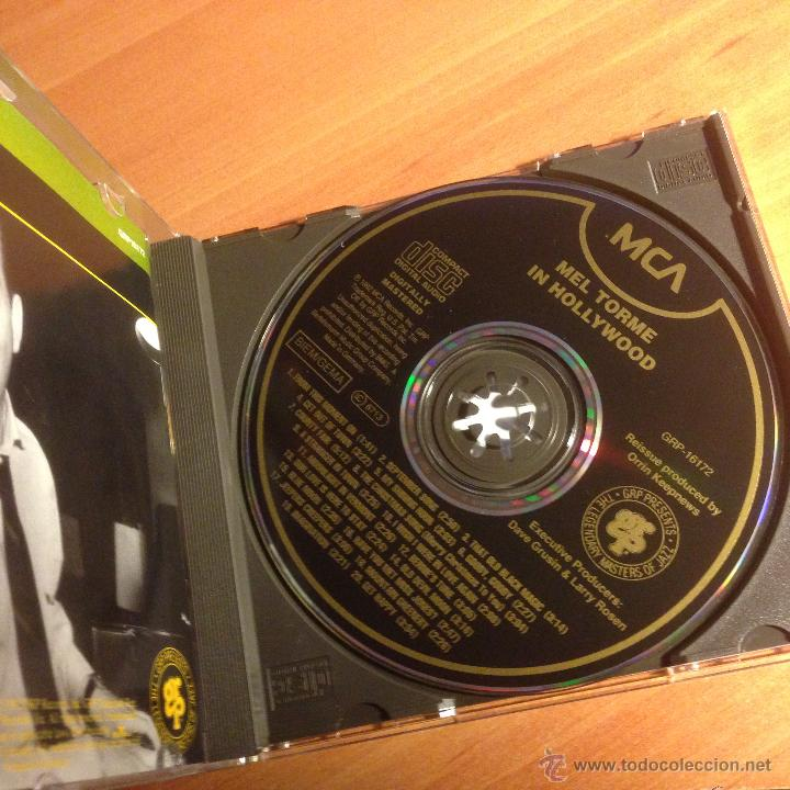 CDs de Música: MEL TORME (IN HOLLYWOOD) CD 20 TRACKS (CD25) - Foto 2 - 53571463