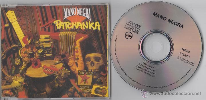 MANO NEGRA CD MAXI PATCHANKA 1990 4 TRACKS (Música - CD's Rock)