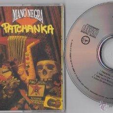 CDs de Música: MANO NEGRA CD MAXI PATCHANKA 1990 4 TRACKS. Lote 53580387