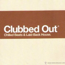 CDs de Música: DOBLE CD ÁLBUM: CLUBBED OUT - CHILLED BEATS & LAID-BACK HOUSE - 35 TRACKS - VIRGIN RECORDS 2001. Lote 53603453