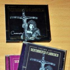 CDs de Música: DOBLE CD ALBUM: NOCHES CON SENTIMIENTO FLAMENCO, CON CAMARÓN, MAIRENA, MARCHENA Y MÁS - NAIMARA 2004. Lote 53610502