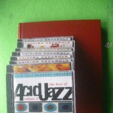 CDs de Música: VARIOS - ACID JAZZ ACID JAZZ - 8 CDS+REVISTAS NUEVOS CORRESPONDIENTES ENCUADERNADAS PDELUXE. Lote 53622755