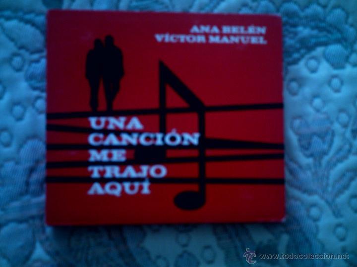 CD (DOBLE CD) ANA BELEN Y VICTOR MANUEL. UNA CANCION NOS TRAJO AQUI (Música - CD's Melódica )