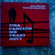 CDs de Música: CD (DOBLE CD) ANA BELEN Y VICTOR MANUEL. UNA CANCION NOS TRAJO AQUI. Lote 53634769