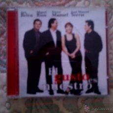 CDs de Música: CD ANA BELEN, MIGUEL RIOS, VICTOR MANUEL, SERRAT. EL GUSTO ES NUESTRO. Lote 53635618