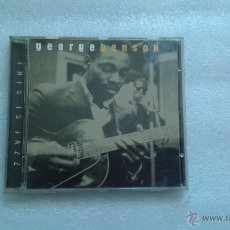 CDs de Música: GEORGE BENSON - THIS IS JAZZ CD 1996. Lote 53637470