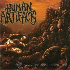 CDs de Música: HUMAN ARTIFACTS- THE PRINCIPLES OF SICKNESS-DEATH METAL CDS. Lote 53643219