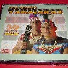 CDs de Música: LOS INDIOS TABAJARAS / 50 ÉXITOS DE ORO / GRANDES ÉXITOS / LO MEJOR DE / 3 CD. Lote 53650565