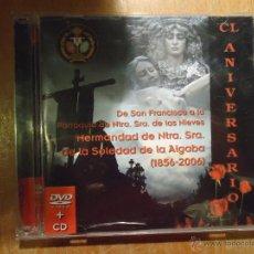 CDs de Música: CD + DVD ORIGINAL SEMANA SANTA SEVILLA LA ALGABA . Lote 53668776