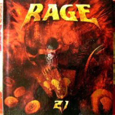 CDs de Música: RAGE.21...DOBLE CD. Lote 53677028