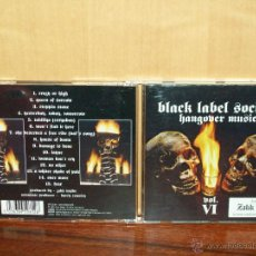 CDs de Música: ZAKK WYLDE´S BLACK LABEL SOCIETY -HANGOVER MUSIC - CD VOL. VI. Lote 53677410
